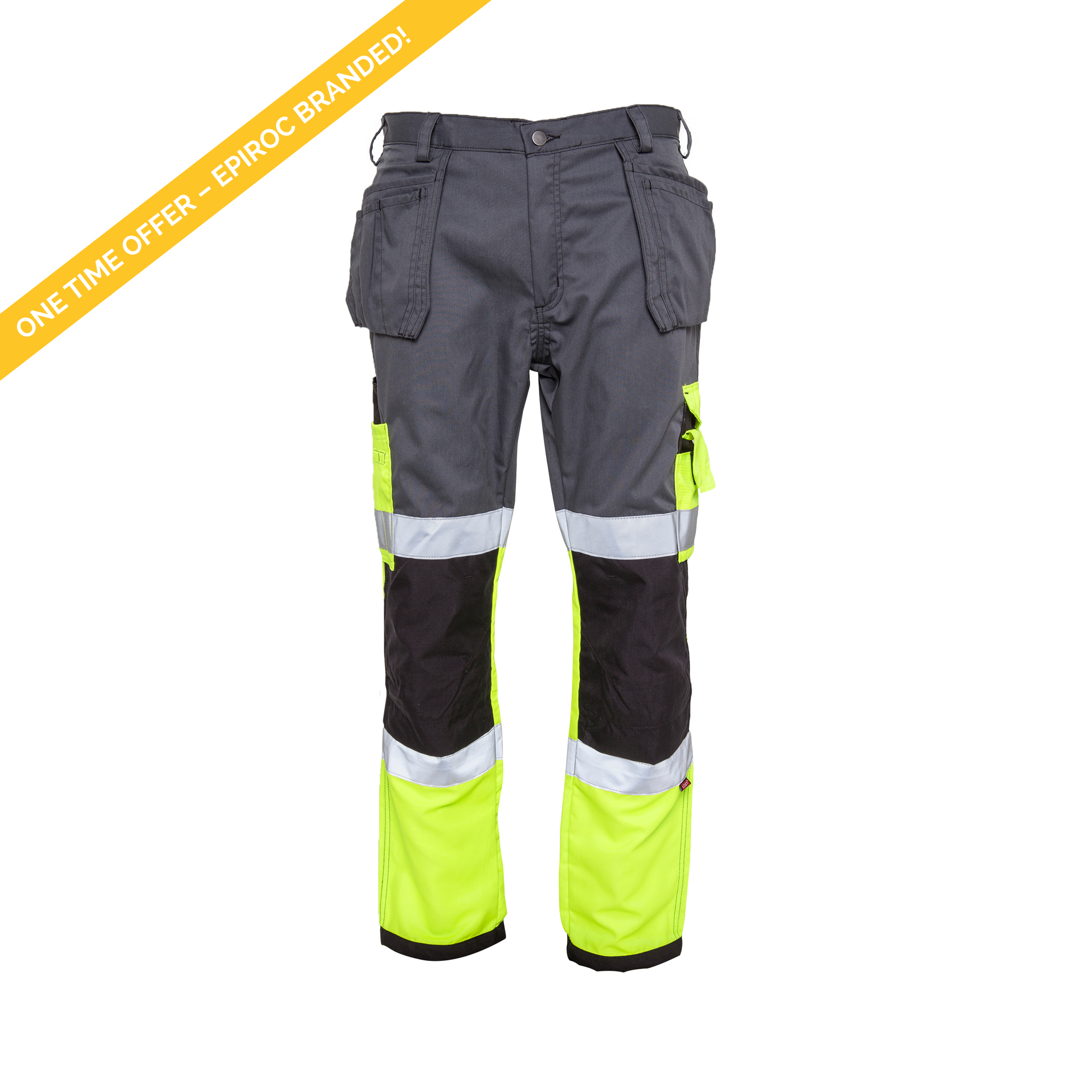 <p>These thin high-visibility trousers are perfect for warmer climates. Equipped with both hanging and leg pockets with several functionalities for everyday use. You can also tuck the hanging pockets behind the usual pocket whenever needed. Added Duratex® fabric for hanging pockets, kneepad areas, and at the ankles which increases durability, usability, and optional use.</p>