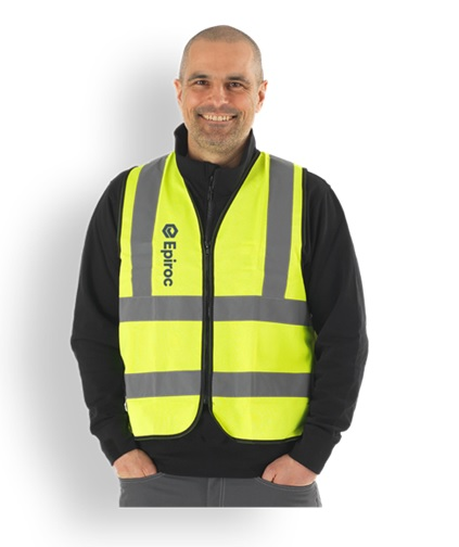This High-quality safety vest made in fluorescent yellow fabric. With added reflective which provides optimal visibility in critical working conditions. With the fluorescent fabric and reflexes this vest meets visibility standard: