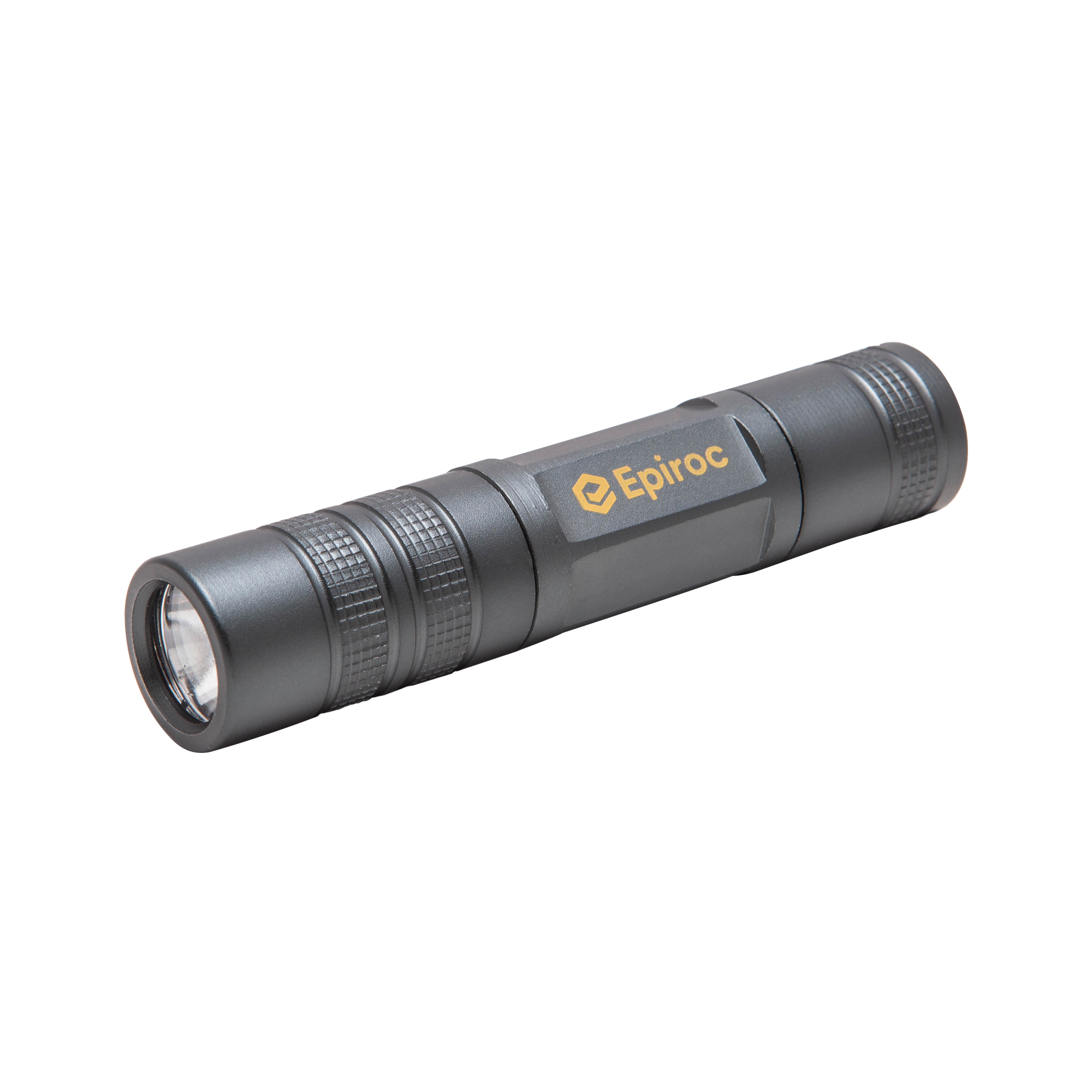 This aluminum LED flashlight provides an impressive bright light for its size. 