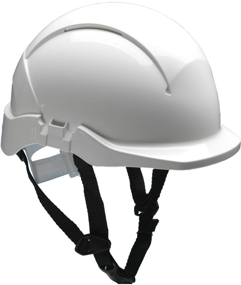 A 2-point chinstrap is an accessory for the AC108 helmet. Adjustable strap to keep helmet in place when needed the most. Anchorage at helmet shell with breakaway function releasing chinstrap at load range specified in standard (15-25 kg).